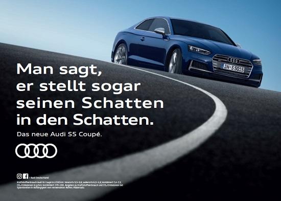 Das neue Audi A5 Coupe